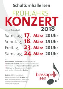 Blaskapelle Isen Kirchenkonzert 2018