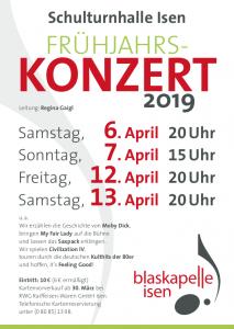 Blaskapelle Isen Frühjahrskonzert 2019