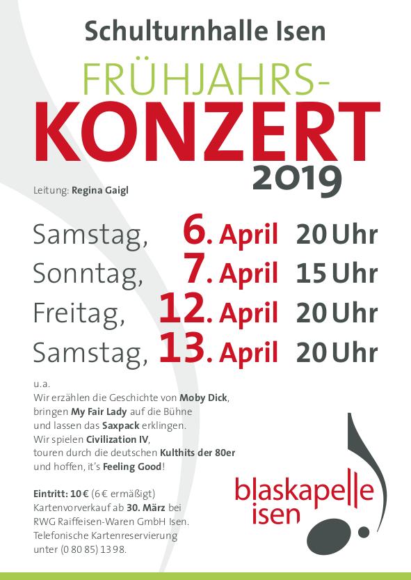 Frühjahrskonzert 2019