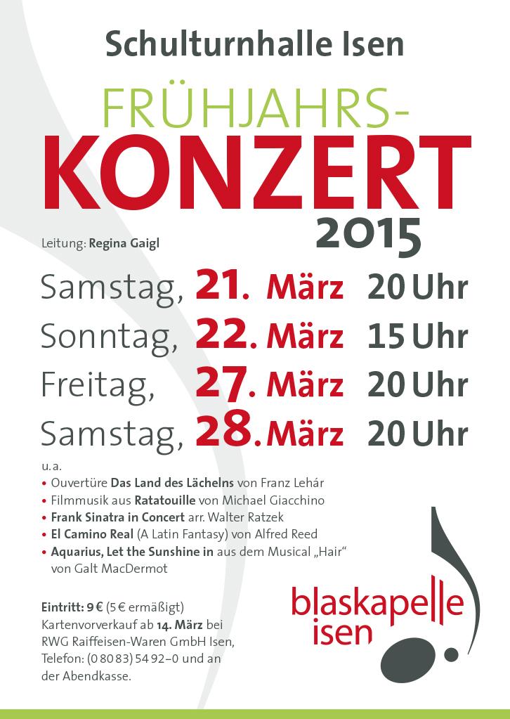 BKI Frühjahrskonzert 2015