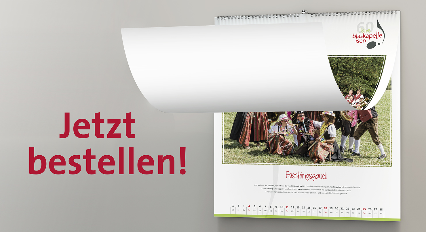 Jubiläums Kalender 2018