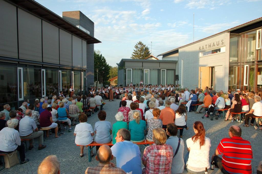 Sommerserenade 2015 Publikum