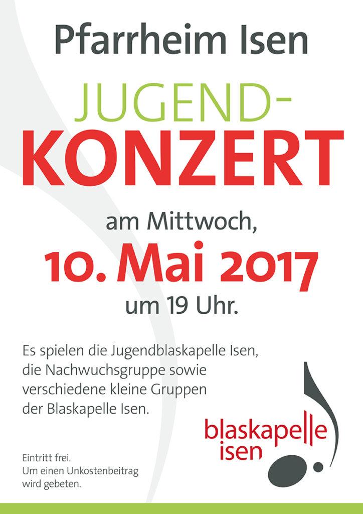 Blaskapelle Isen Jugendkonzert 2017